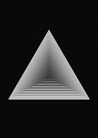 Optical - triangle black